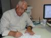 1º atendimento: recadastramento do sr. Frederico Lopes Freire