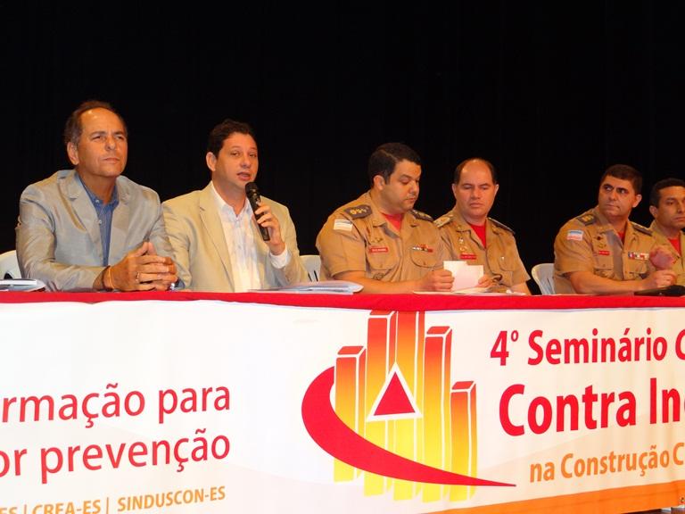 4º Seminário Capixaba de Segurança Contra Incêndio e Pânico