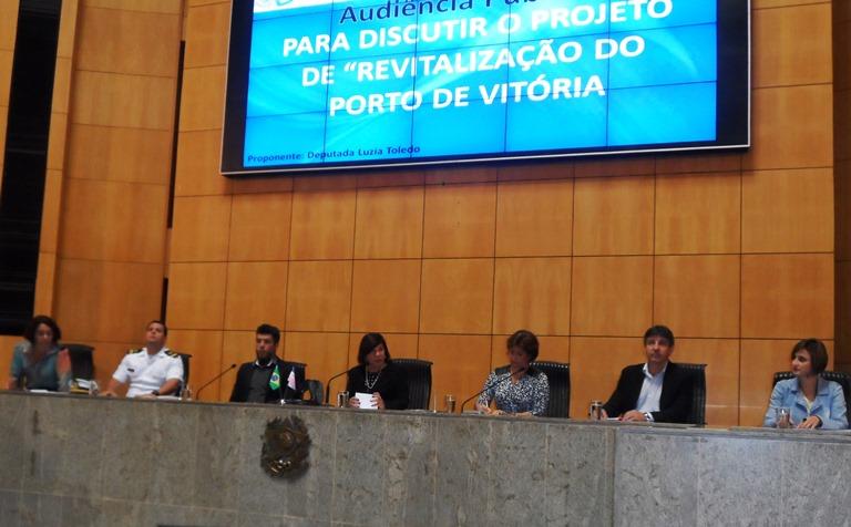 """Audiência Pública """"Revitalização do Porto de Vitória"""""""