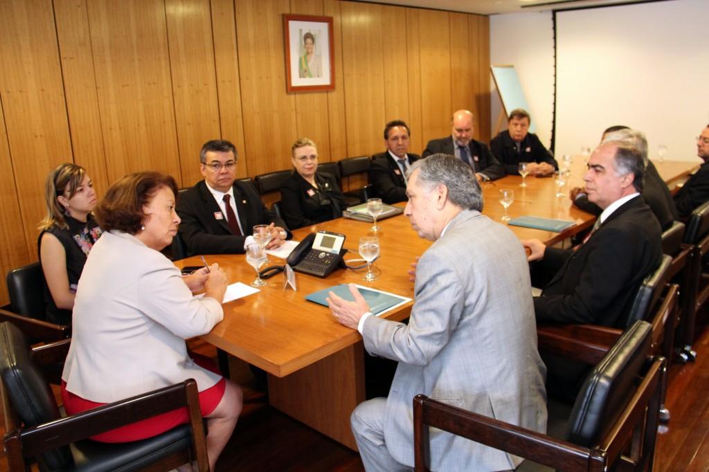 Reunião Ministra Ideli